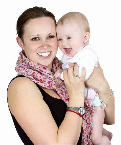 Mom Mother Holding Sweet Transparent Child Sucesso