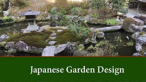 japanese garden design basic principles  ideas