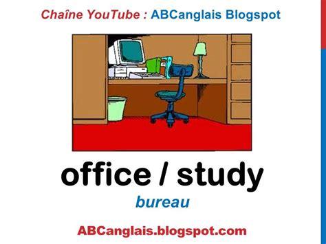 cours d anglais 46 le bureau en anglais fournitures meubles vocabulaire pi 232 ces de la maison