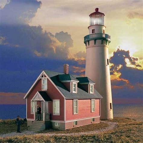 walthers cornerstone ho scale rocky point lighthouse kit