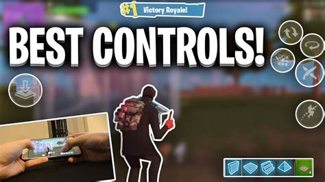 kill win  controls handcam fortnite mobile