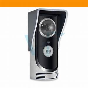 Wireless Door Bell With Camera Intercom Video Audio