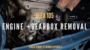 How Not To Remove An Alfa 105 Engine