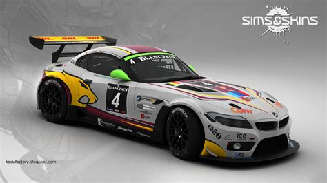 Racing Team by Koda Factory Marc Vds Racing Team Bmw Z4