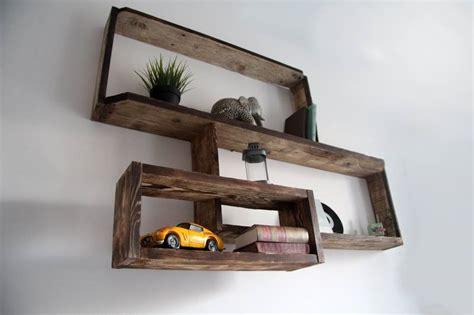 etagere en bois murale etagere murale en bois