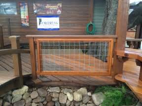 Hog Wire Deck Railing Panels