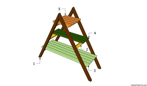 Patio Plant Stand Plans by Plant Stand Plans Free Garden Plans How To Build