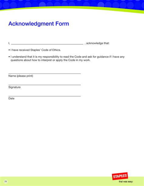 i who has template employee acknowledgement form 41 acknowledgement letter exles sles related