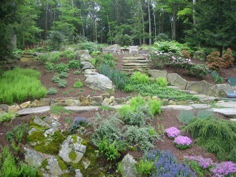 terrace garden landscaping terraced garden slope landscaping gardening ideas pinterest