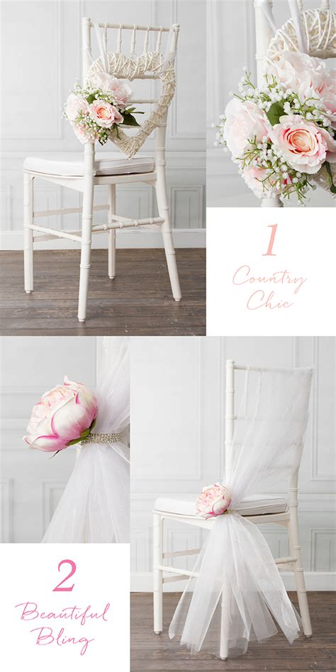 diy wedding chair decoration ideas 8 beautiful diy wedding chair decorations