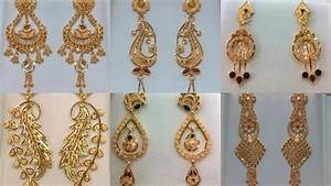 Gold Earrings Designs In Less Than One Tola Gold