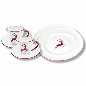 Gmundner Keramik Hirsch : gmundner keramik bordeauxroter hirsch breakfast for two gourmet sets gmundner keramik ~ Watch28wear.com Haus und Dekorationen