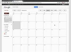 Using Google Calendars to Create a Shift Calendar YouTube