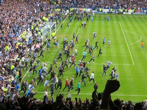 Pitch Invasion. SWFC vs Wycombe 2011/12. Promotion Day ...