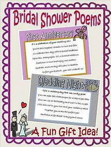 bridal shower poems With wedding shower poems
