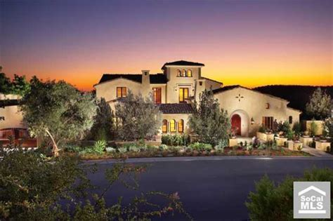 Newly Built Spanish Style Estate In Irvine, CA   Homes of