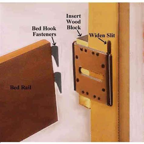 bracket  widen beds good stuff   bed hardware