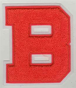 Custom embroidered patches chenille letters and emblems for Chenille letters and patches