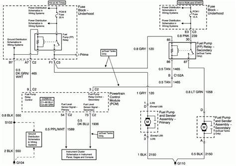 Trailblazer Fuel Pump Wiring Diagram Fuse Box