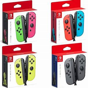 Qoo10 Nintendo Switch Joy Con Controller Neon Blue