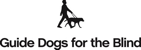 guiding for the blind guide dogs for the blind logo