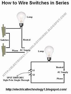 How To Wire Switches In Series