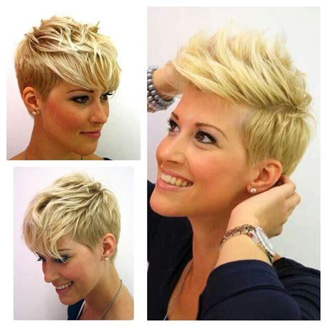 super cute short layered pixie cut  fine hair fun
