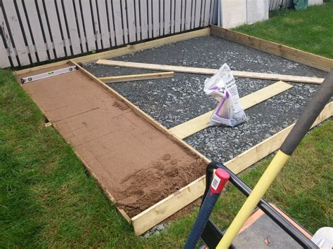 New Patio new patio on sharp sand and dot dab diynot forums