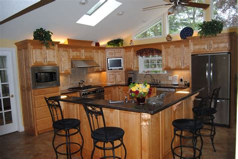 guides  apply  shaped kitchen island   size