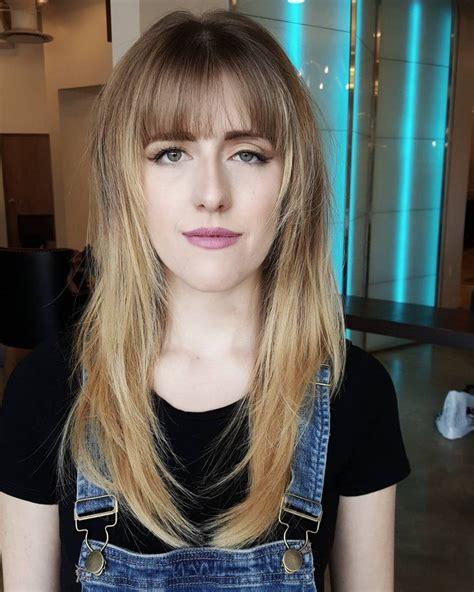 38 flattering long hair with bangs hairstyles 2019 trends