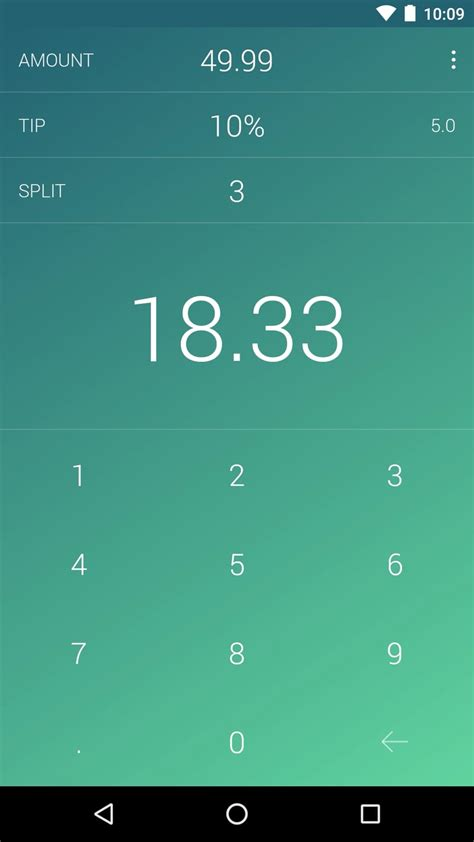 Tip Tap: The effortless bill calculator - Uplabs
