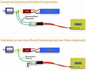 Brushless Rpm Sensor Inkl Adapterkabel