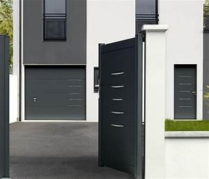 Porte De Garage Novoferm : ensemble porte de garage et portail au design coordonn ~ Dallasstarsshop.com Idées de Décoration