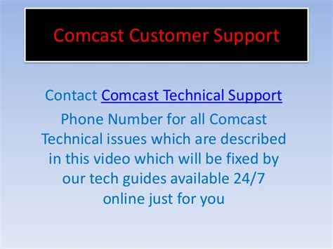comcast technical customer support 1877 587 1877 number