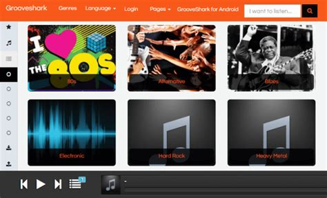 Grooveshark Mobile Free by Top 12 Best Spotify Alternatives For Free