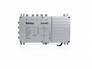 Telefonkabel Als Netzwerkkabel : televes multischalter mit netzteil ms54ng online kaufen ~ Watch28wear.com Haus und Dekorationen