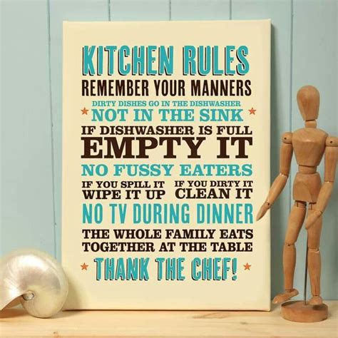 Kitchen Rules  Inspiration And Quotes Pinterest