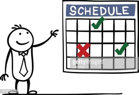 Schedule Vector Art