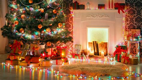 95 tree fireplace wallpaper photos new year