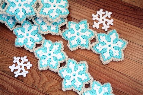 33 Crochet Snowflake Patterns