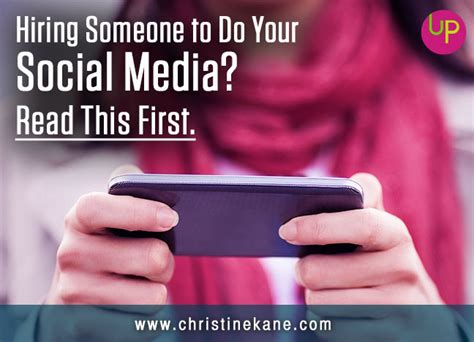 Hiring Someone To Do Your Social Media? Read This First
