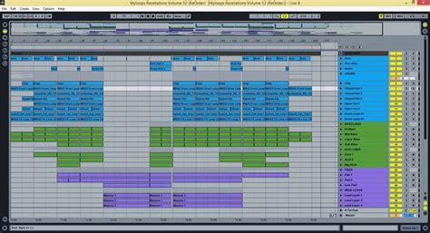 ableton templates revelations vol 12 reorder trance ableton live template