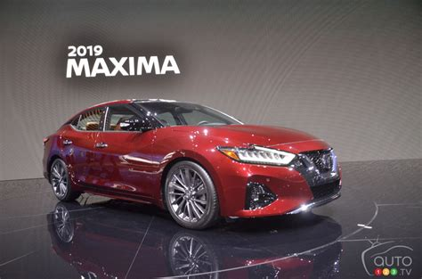 2019 Nissan Maxima Gets Update