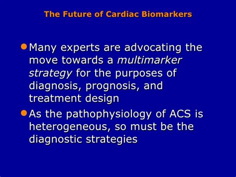 Novel Biomarkers And Cardiovascular Disease