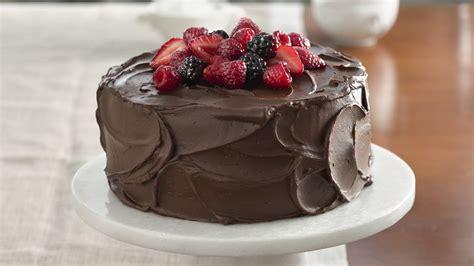 berry topped chocolate cake recipe  betty crocker