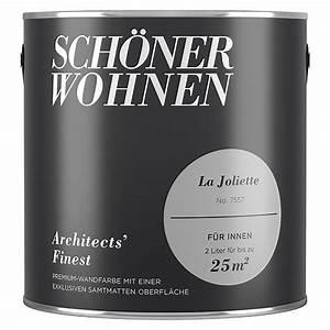 Schöner Wohnen Architects Finest : sch ner wohnen wandfarbe architects 39 finest no 7557 la joliette 2 l matt 5888 ~ Frokenaadalensverden.com Haus und Dekorationen
