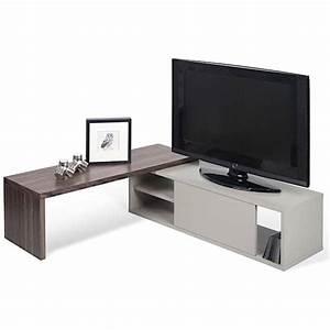 Meuble Tv Extensible : meuble tv extensible et pivotant move temahome ~ Teatrodelosmanantiales.com Idées de Décoration