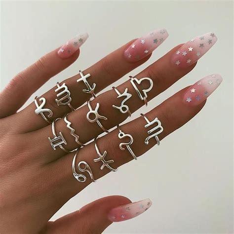 Bague Signe Astrologique MARIA | Bijoux de main, Style de ...
