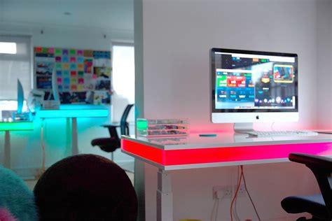 le de bureau led tableair le bureau intelligent artibazar actualit 233 s du design mobilier