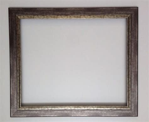 Reverse Silver With Antique Finish Frame Different Sizes